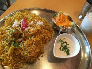 インディアンレストラン アールティ:ビリヤニ