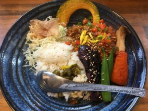 アヤムスープ茶屋:野菜キーマカレー