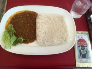 ベンガル:キーマカレー