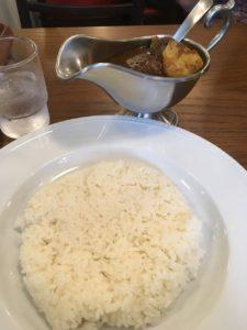 ベンガル:ビーフ角切りカレー
