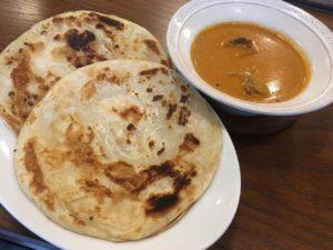 ベンガル:カレー&パラタ(バターチキンカレー)