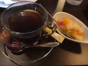 CINTA JAWA CAFE Akihabara(チンタジャワカフェ秋葉原):セットのインドネシア風粉コーヒー