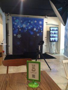 QLQL cafe(クルクルカフェ):内観(360度撮影のスペース)