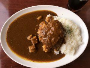 ザ・ローズ&クラウン 秋葉原店:ハンバーグカレー
