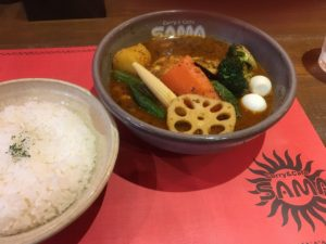 スープカレー&カフェ SAMA 神田店