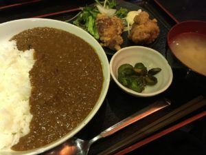 タカカラあきば店:超辛チキンカレー定食