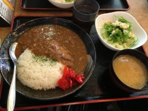 ヤキトンヤリキ 秋葉原店:牛すじ煮込カレー